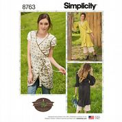 8763 Simplicity Pattern: Misses' Aprons